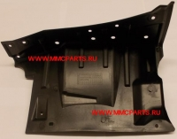 Защита двигателя на лонжероне левая аутлендер-xl лансер-x asx mb0093703l