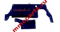 Защита моторного отсека задняя лансер-x аутлендер-xl asx mb0093705bs