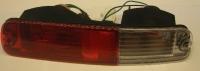 Фонарь в бампер левый красно-белый поджеро-iii 03-07 mb4090601l