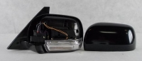 Зеркало левое крашенное черное поворот/подогр/подсвет/склад паджеро-iv 07- mb4180607l