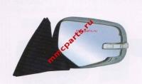 Зеркало левое с поворотником эл+подог+склад хром паджеро спорт l200 09-