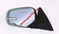 Зеркало правое с поворотником эл+подог+склад хром паджеро спорт l200 09- mb4180610r