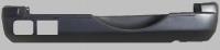 Бампер задний под накладку паджеро ио/пинин 5 дв. Mb4750601r
