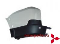 Бампер задний боковина левая под парктроник паджеро-iv 07-mb4770607l