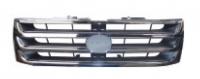 Решетка радиатора хром овальная эмблема паджеро ио 01-05
