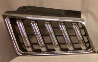 Решетка радиатора правая серая+хром паджеро спорт 08-13 mb4840310r