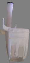 Бачок омывателя без мотора лансер 03-10 mb2020302b