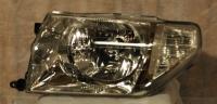 Фара левая хром белый поворот без эл. корректора ио/пинин 98-05 mb4000603l