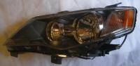 Фара левая черная матовая аутлендер-xl 07-09 mb4003701l