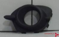 Заглушка переднего бампера под птф левая паджеро спорт 13- mb4160318l
