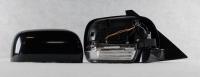 Зеркало правое крашенное черное поворот/подогр/подсвет/склад паджеро-iv 07- mb4180607r