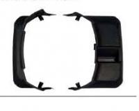 Накладка на кожух запасного колеса правая паджеро/монтеро-iv 07-