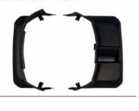 Накладка на кожух запасного колеса левая паджеро/монтеро-iv 07-