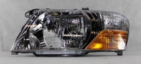 Фара левая светлая без эл. корректора паджеро/монтеро-iii 03-07 mb4000604l