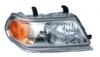 Фара правая рамка хром светлая внутри с корректором паджеро спорт 05-08 mb4004600ar